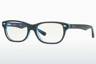 Lunettes design Ray-Ban Junior RY1555 3667 - Bleues