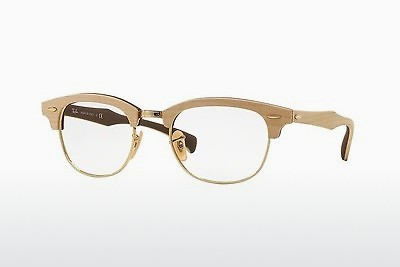 Lunettes design Ray-Ban CLUBMASTER (RX5154M 5558) - Brunes, Maple
