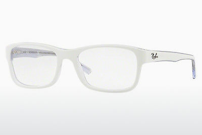 Lunettes design Ray-Ban RX5268 5737 - Blanches, Transparentes