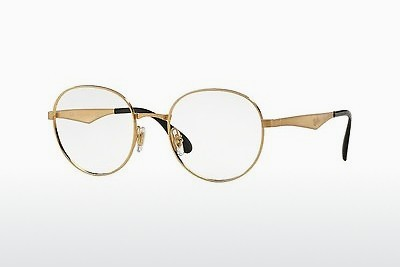 Lunettes design Ray-Ban RX6343 2860 - Or