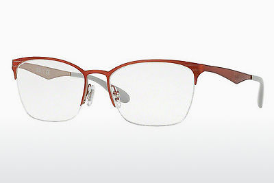 Lunettes design Ray-Ban RX6345 2921 - Rouges