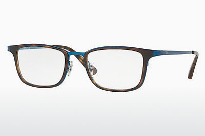 Lunettes design Ray-Ban RX6373M 2924 - Bleues