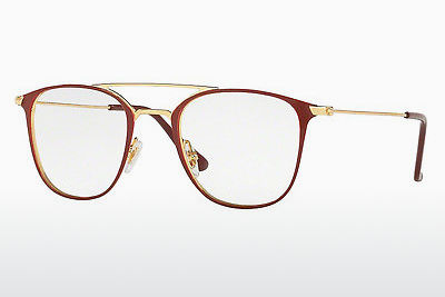 Lunettes design Ray-Ban RX6377 2910 - Or, Rouges