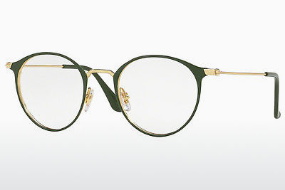 Lunettes design Ray-Ban RX6378 2908 - Or, Vertes