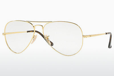 Lunettes design Ray-Ban RX6489 2500 - Or