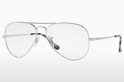 Lunettes design Ray-Ban RX6489 2501 - Argent