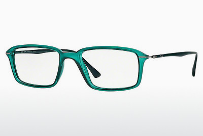 Lunettes design Ray-Ban RX7019 5243 - Vertes