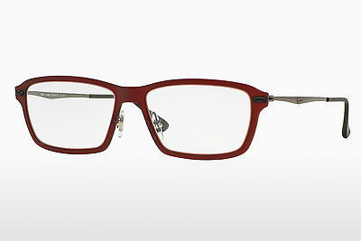 Designerbrillen Ray-Ban RX7038 5456 - Rood