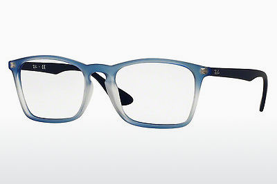 Lunettes design Ray-Ban RX7045 5601 - Bleues