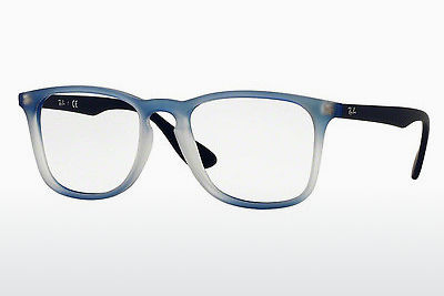 Lunettes design Ray-Ban RX7074 5601 - Bleues