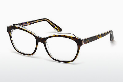Lunettes design Tod's TO5131 052 - Brunes, Dark, Havana