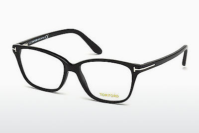 Lunettes design Tom Ford FT4293 001 - Noires, Shiny