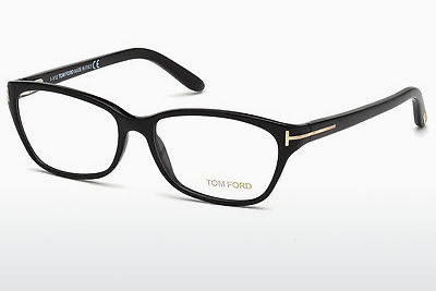 Lunettes design Tom Ford FT5142 001 - Noires, Shiny