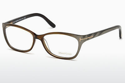 Lunettes design Tom Ford FT5142 050 - Brunes, Dark