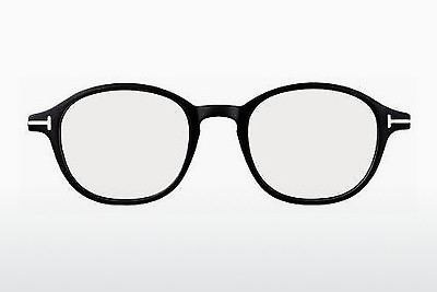 Lunettes design Tom Ford FT5150 001 - Noires, Shiny
