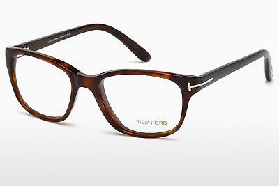 Lunettes design Tom Ford FT5196 052 - Brunes, Dark, Havana
