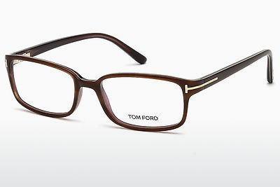 Lunettes design Tom Ford FT5209 047 - Brunes, Bright