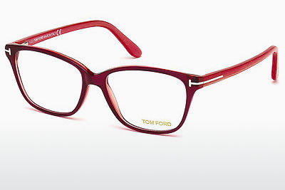 Lunettes design Tom Ford FT5293 077 - Rose, Fuchsia