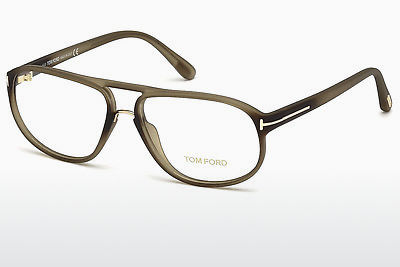 Lunettes design Tom Ford FT5296 046 - Brunes