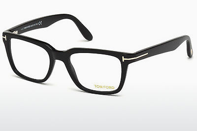 Lunettes design Tom Ford FT5304 001 - Noires, Shiny