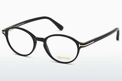 Lunettes design Tom Ford FT5305 001 - Noires, Shiny