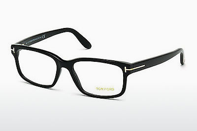 Lunettes design Tom Ford FT5313 001 - Noires, Shiny