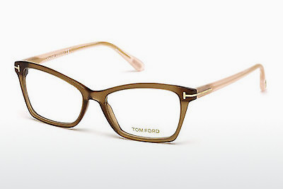 Lunettes design Tom Ford FT5357 048 - Brunes