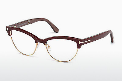 Lunettes design Tom Ford FT5365 071 - Bourgogne, Bordeaux