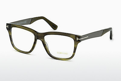 Lunettes design Tom Ford FT5372 098 - Vertes, Dark
