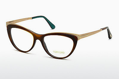 Lunettes design Tom Ford FT5373 052 - Brunes, Dark, Havana