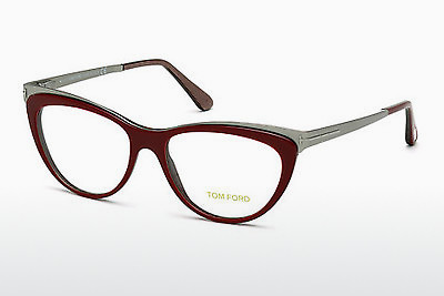 Lunettes design Tom Ford FT5373 071 - Bourgogne, Bordeaux