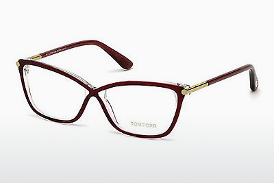 Lunettes design Tom Ford FT5375 071 - Bourgogne, Bordeaux