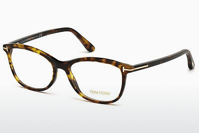 Lunettes design Tom Ford FT5388 052 - Brunes, Dark, Havana