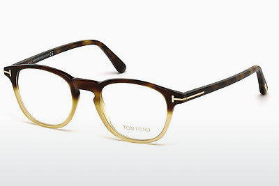 Lunettes design Tom Ford FT5389 053 - Havanna, Yellow, Blond, Brown