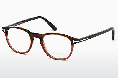Lunettes design Tom Ford FT5389 054 - Havanna, Red