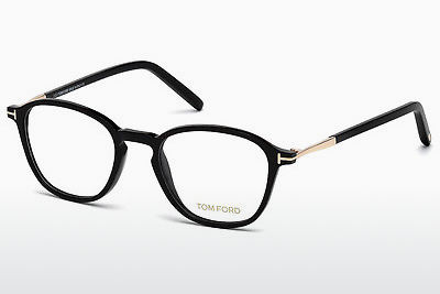 Lunettes design Tom Ford FT5397 001 - Noires, Shiny