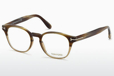 Lunettes design Tom Ford FT5400 65A - Corne, Horn, Brown