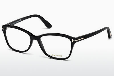 Lunettes design Tom Ford FT5404 001 - Noires, Shiny