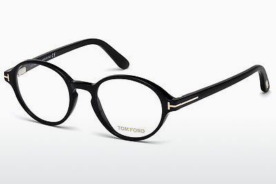Lunettes design Tom Ford FT5409 001 - Noires, Shiny