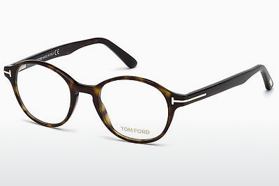 Lunettes design Tom Ford FT5428 052 - Brunes, Havanna