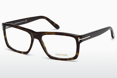 Lunettes design Tom Ford FT5434 052 - Brunes, Havanna