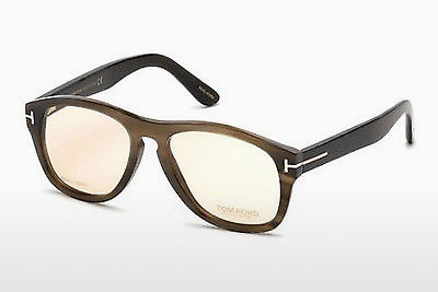 Lunettes design Tom Ford FT5440-P 64E - Corne, Horn, Brown