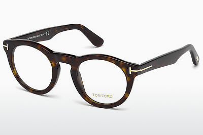Lunettes design Tom Ford FT5459 052 - Brunes, Havanna