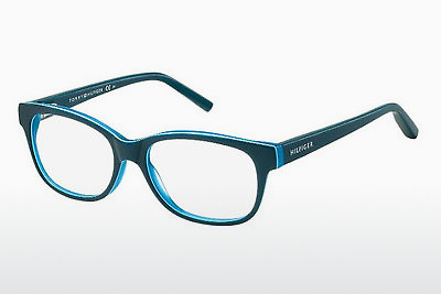 Lunettes design Tommy Hilfiger TH 1017 UCT - Vertes, Teal