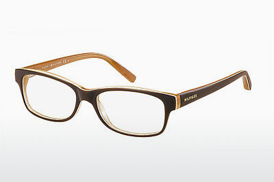 Lunettes design Tommy Hilfiger TH 1018 GYB - Orange, Brunes