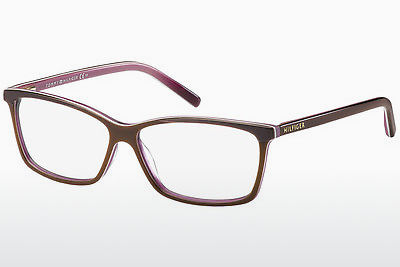 Lunettes design Tommy Hilfiger TH 1123 4T2 - Dkltbrown