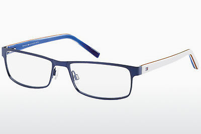 Lunettes design Tommy Hilfiger TH 1127 4XR - Bluwhtred