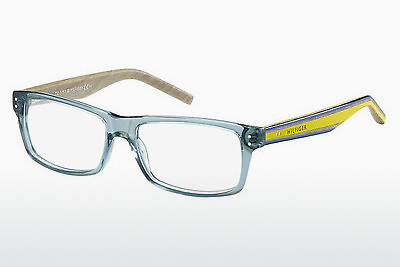 Lunettes design Tommy Hilfiger TH 1136 F6H - Bleues, Turquoise