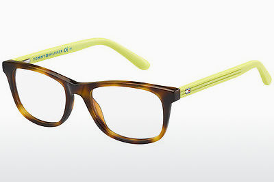 Lunettes design Tommy Hilfiger TH 1338 H85 - Havanna, Jaunes