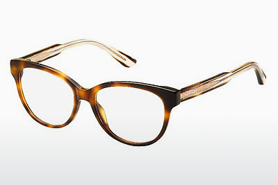 Lunettes design Tommy Hilfiger TH 1387 QQD - Brunes, Havanna